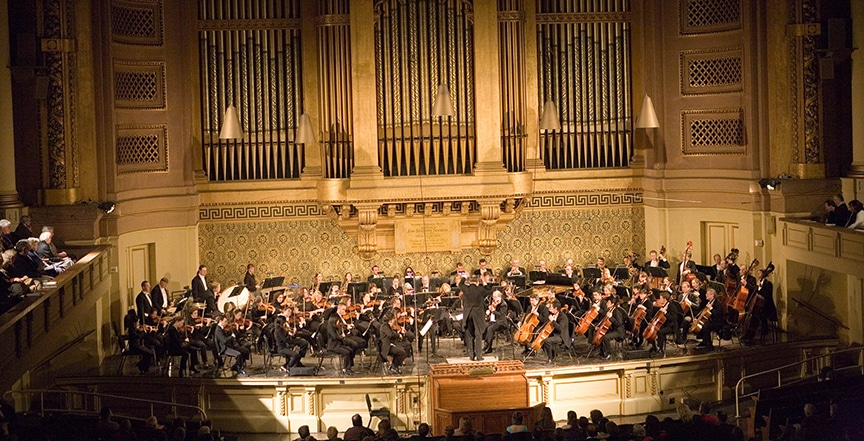 New Haven Symphony Tour