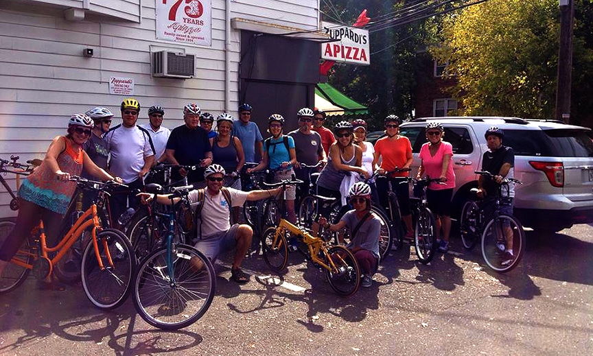 Pizza and Pints Bike Tour