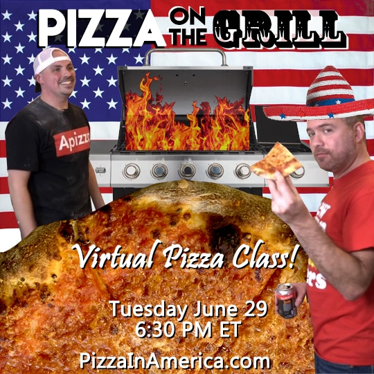Pizza in America: Pizza on the Grill